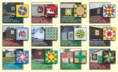 19 Best Brochures and Maps for Barn Quilt Trails images