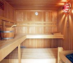 Best Beauty Secrets from the Sweden. Swedish women get their glowing skin by hitting the sauna. The dry, clean heat rids the body of toxins, leaving your skin fresh and bright. Someday, I will have a sauna in my house! Basement Sauna, Basement Ideas, Beauty Secrets, Beauty Hacks, Beauty Tips, Exterior Design, Interior And Exterior, Indoor Sauna, Swedish Women