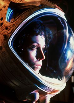 Sigourney Weaver, 29 years old when 'Alien' was made.