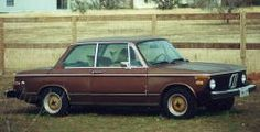 I found a 1974 BMW 2002 like this - gold BBS wheels, Siennabraun color, when I wasn't in the market for a car. It had 64,000 original miles (this was in 1986). The Hurless boys checked it out and pretty much said I'd be insane to not buy it. So I did.