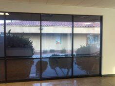 Keep your office cool by tinting your office windows. Tinting done by Time 2 Tint Window Tinting.