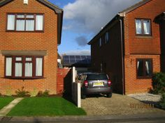 This solar PV installation in Talbot  Village, Bournemouth has severe shading issues and will not save energy. See more at http://www.renewablerescue.co.uk