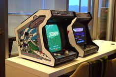 Bartop Arcade Plans, Arcade Cabinet Plans, Arcade Stick, Raspberry Pi Projects, Retro Arcade, Arcade Machine, Pc Cases, Retro Design, Pinball