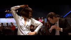 Pulp Fiction - Dance Scene (HQ) Hollywood and the world were blessed with this dance sequence. Nobody could have predicted how PERFECT this dance scene would have worked out. They NAILED it!!
