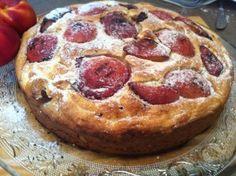 Gluten-Free Grilled Nectarine Cake עוגת נקטרינות צלויות ללא גלוטן