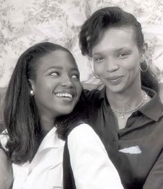 A young Naomi Campbell with her mother, Jamaican-born Valerie Morris.