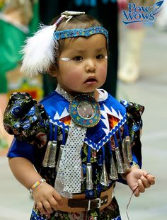 Tiny Tot Jingle dress dancer, love seeing little ones taking part our native culture and traditions