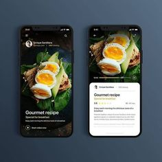 App Food Gourment Repice - Daily UI Challenge designed by Angel Villanueva. Connect with them on Dribbble; Design Android, App Ui Design, Interface Design, Dashboard Design, Flat Design, User Interface, Mobile Application Design, Mobile Ui Design, Application Design