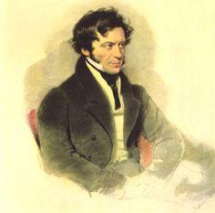 history-of-fashion:  1827 Moritz Michael Daffinger - Franz Grillparzer