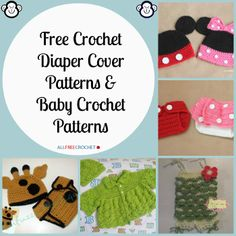 12 Free Crochet Diaper Cover Patterns and Baby Crochet Patterns | AllFreeCrochet.com