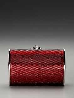 Judith Leiber Crystal Beaded Clutch