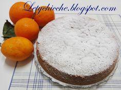 Letychicche: Torta al profumo d'arancia e mandorla