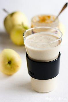 Maapähkinävoi-omenasmoothie - Chocochili