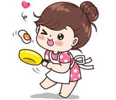 Love u pushy 😻😻😻😻😻 Cute Love Stories, Cute Love Pictures, Cute Cartoon Pictures, Cute Love Gif, Cute Chibi Couple, Love Cartoon Couple, Cute Cartoon Girl, Japon Illustration, Cute Illustration