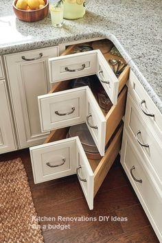 10 DIY Solutions to Renew Your Kitchen #Kitchenrenovation #kitchenideas