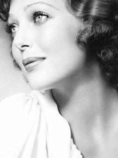CLASSIC HOLLYWOOD GLAM — Loretta Young