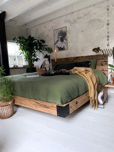 Industrial Style Bedroom, Home Decor Bedroom, Bedroom Ideas, Tuscan Bedroom, Bedroom Rustic, Bedroom Modern, Decor Room, Bedroom Styles, Diy Home Decor