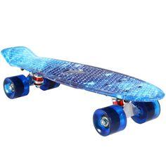 Retro Skateboard Starry Sky Pattern Board Durable Light Environmental Outdoor Sport Skate Board 1484064