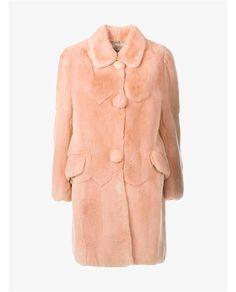 MIU MIU Rabbit Fur Coat. #miumiu #cloth #