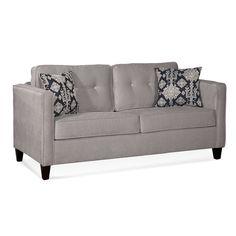 Serta Upholstery Elizabeth Regular Sleeper Loveseat