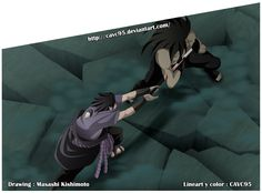 Naruto 657 _ Sasuke vs Madara by CAVC95