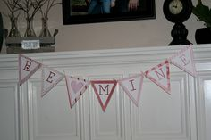 Valentines Day Bunting and Poster [Free Printable]