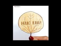 Goodbye Summer, Hello Fall! - Stop Motion Animation by Rachel Ryle - YouTube