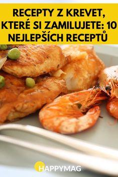 Recepty z krevet, které si zamilujete: 10 nejlepších receptů Burnt Offerings, Dip Recipes, Pesto, Sushi, Stuffed Peppers, Health, Life, Food, Kitchen Armoire
