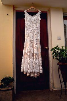 CocoMelody wedding dress, hanging wedding dress, pre wedding photos, bohemian dress, boho wedding, vintage.