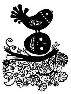 Madeleine Stamer, influenced by Mexican folk art.