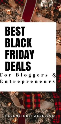 Best Black Friday & Cyber Monday Deals for Bloggers and Entrepreneurs 2020 Best Black Friday, Black Friday Deals, Psychology Books, Cyber Monday Deals, Life Science, Science Fair, Best Blogs, Environmental Science, Christmas Carol