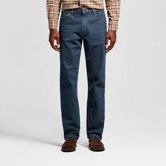 Wrangler Men's Advanced Comfort Relaxed Fit Jeans Dark Indigo (Blue) 33x32
