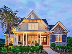 Love this ... Craftsman Style 2 story 4 bedrooms(s) House Plan with 3878 total square feet and 4 Full Bathroom(s) from Dream Home Source House Plans