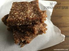 No Bake Pumpkin Spic
