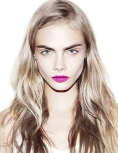 cara delivigne pink lips - Google Search