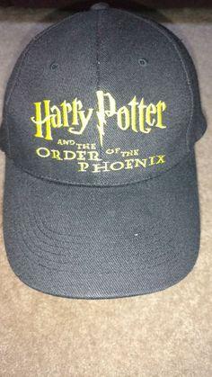 de08302626d cd Harry Potter   the Order of the Phoenix Blk Baseball Cap Exclusive  Scholastic