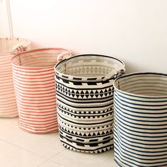 Japanese household cloth stripe cotton storage barrels of dirty clothes storage barrels of the original single 0443-in Storage Baskets from Home & Garden on Aliexpress.com   Alibaba Group