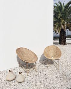 48 Ideas For Rattan Garden Furniture Seating Areas Wicker Chairs - Furnitures - Design Rattan Furniture Exterior Design, Interior And Exterior, Casa Patio, Backyard Patio, Backyard Furniture, Furniture Chairs, Outdoor Furniture, Interior Minimalista, My New Room