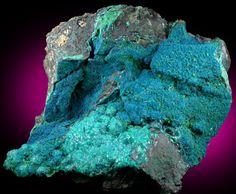mineral specimens | Mineral Specimens: Cornetite, Malachite, Chrysocolla from L'Etoile du ...