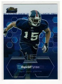 Sports Cards Football – 2003 Topps Finest David Tyree