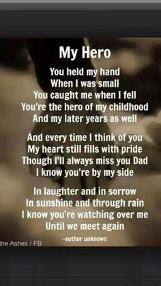 My hero poem