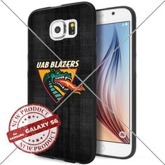 NEW UAB Blazers Logo NCAA #1628 Samsung Galaxy S6 Black Case Smartphone Case Cover Collector TPU Rubber original by WADE CASE [Samsung Galaxy S6 Black Case] WADE CASE http://www.amazon.com/dp/B017KVL730/ref=cm_sw_r_pi_dp_X49ywb04WQ3QN