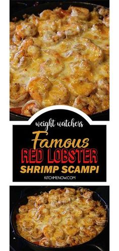 Red Lobster Shrimp ScampiFamous Red Lobster Shrimp Scampi Buffalo Chicken Dip Red Lobster fans, you can thank us later for this cheesy crab alfredo pasta dish. Get the recipe at . Famous Red Lobster Shrimp Scampi Recipe - Genius Kitchen none . Lobster Recipes, Fish Recipes, Seafood Recipes, Cooking Recipes, Healthy Recipes, Copycat Red Lobster Shrimp Scampi Recipe, Restaurant Recipes, Copycat Recipes, Cooking Ideas
