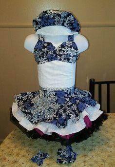 National Pageant Casual Wear Dress. Christmas  Holiday  Size 18mos-3t #Handmade #DressyEverydayHoliday