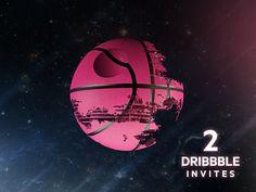 2 Dribbble Invites! by Ronald Hagenstein