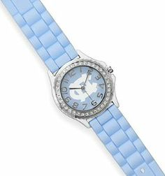 6-1/2 to 8-1/2 inch Adjustable Collegiate Licensed University of North Carolina Fashion Watch Silver Messages. $37.99