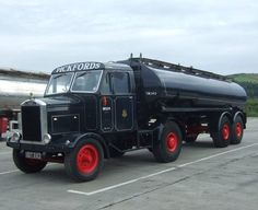 Fuel Truck, Train Truck, Vintage Trucks, Old Trucks, Old Lorries, Semi Trailer, Heavy Truck, Watford, Commercial Vehicle