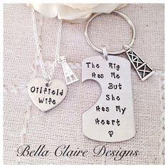 Oilfield Wife Oilfield girlfiend Oilfield by BellaClaireDesigns