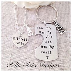 Oilfield Wife Oilfield girlfiend Oilfield by BellaClaireDesigns
