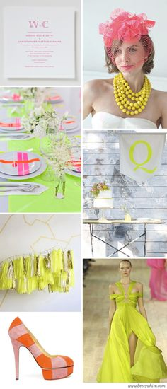 Neon! Nice one! #freshpartydecor
